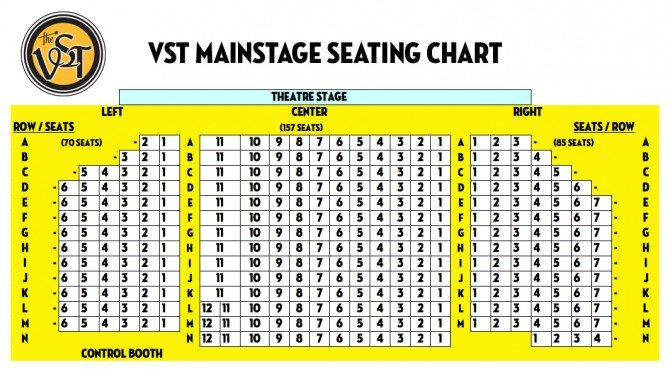 VST Seating Chart 2013