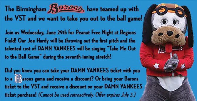 Damn Yankees - Barons website promo